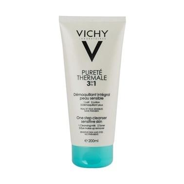 Vichy VICHY Purete Thermale 3 in 1 One Step Cleanser Sensitive Skin 200 ml Renksiz